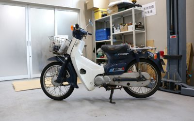 Testing SOD-1 Plus in an old Honda Cub 50cc