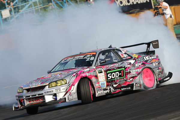An ester-based additive for motor racing – using SOD-1 Plus in a drift racing car