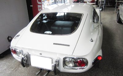 Classic cars in Japan – Fukuoka's Mr Iwao Fujitsubo