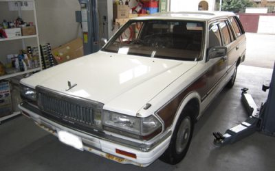 A Lovely Old Nissan Cedric Wagon – saved by SOD-1 Plus